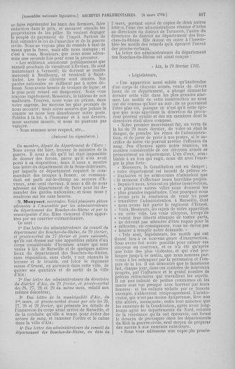Tome 39 : Du 22 février au 14 mars 1792 - page 407
