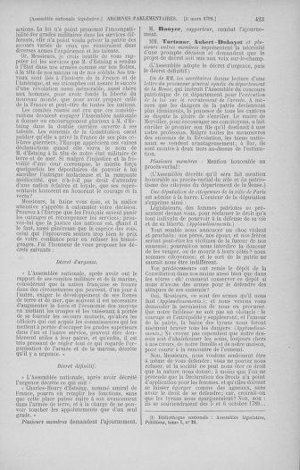 Tome 39 : Du 22 février au 14 mars 1792 - page 423