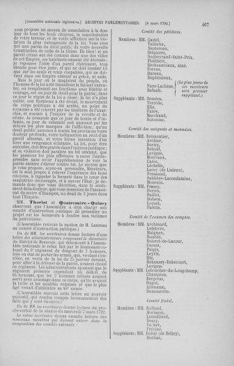 Tome 39 : Du 22 février au 14 mars 1792 - page 467