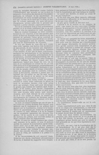 Tome 39 : Du 22 février au 14 mars 1792 - page 476