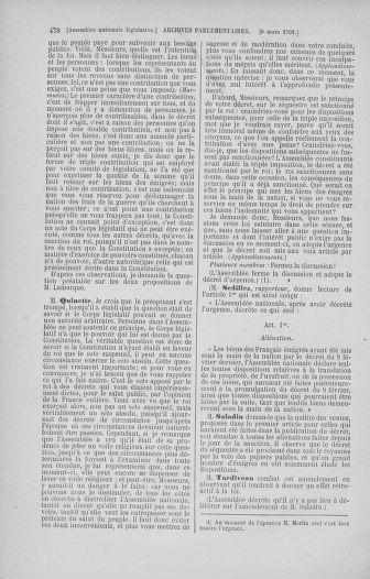 Tome 39 : Du 22 février au 14 mars 1792 - page 478
