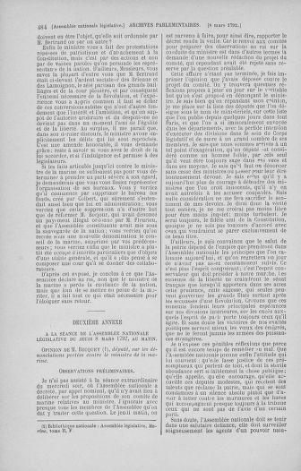 Tome 39 : Du 22 février au 14 mars 1792 - page 484