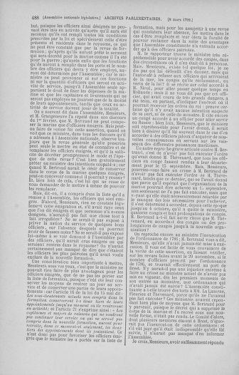 Tome 39 : Du 22 février au 14 mars 1792 - page 488