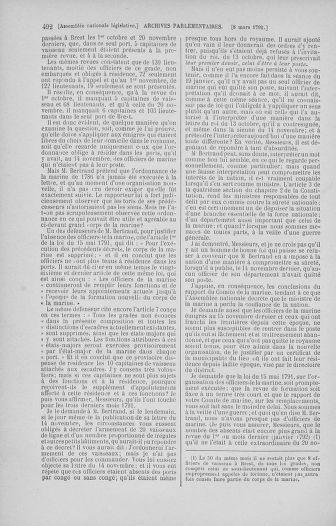Tome 39 : Du 22 février au 14 mars 1792 - page 492
