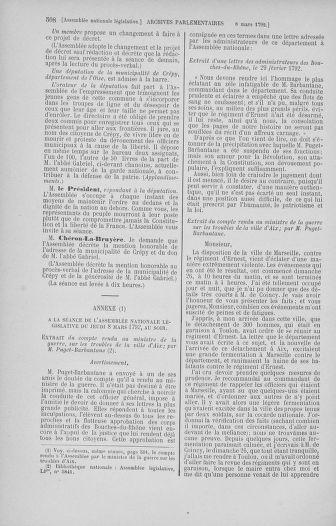 Tome 39 : Du 22 février au 14 mars 1792 - page 508