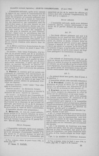 Tome 39 : Du 22 février au 14 mars 1792 - page 513