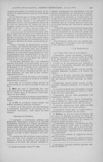 Tome 39 : Du 22 février au 14 mars 1792 - page 527