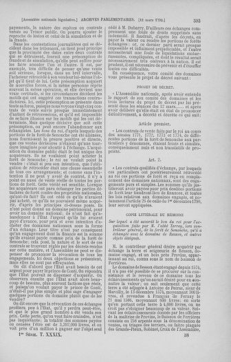 Tome 39 : Du 22 février au 14 mars 1792 - page 593