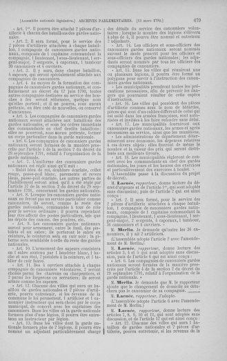Tome 39 : Du 22 février au 14 mars 1792 - page 679