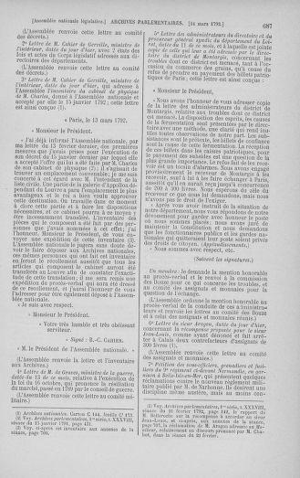 Tome 39 : Du 22 février au 14 mars 1792 - page 687