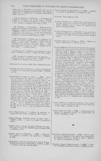 Tome 39 : Du 22 février au 14 mars 1792 - page 744