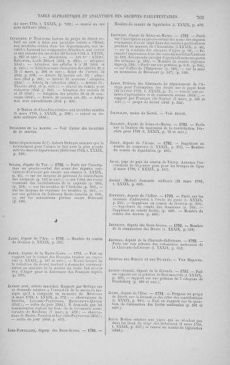 Tome 39 : Du 22 février au 14 mars 1792 - page 765
