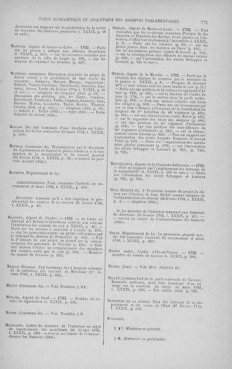 Tome 39 : Du 22 février au 14 mars 1792 - page 771