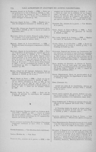 Tome 39 : Du 22 février au 14 mars 1792 - page 774