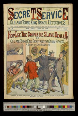 Hop Lee, The Chinese Slave Dealer; or,  Old and Young King Brady and the Opium Fiends. A story of San Francisco