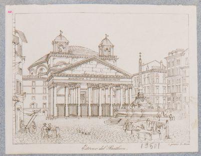 Pantheon, esterno