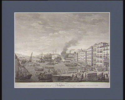 Introduction des Anglais dans le port de Toulon le 28 août 1793 : [estampe]