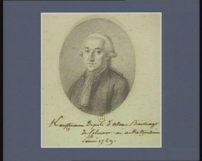 Kauffmann Deputé d'Alsace Bailliage de Colmar né à Matzenheim L'année 1749 : [dessin]