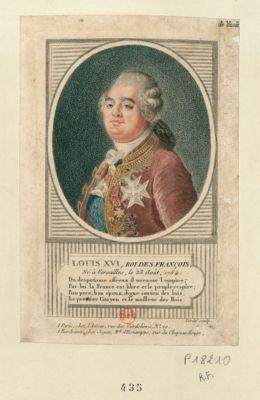 Louis XVI , roi des Francois du despotisme affreux il terrasse l'empire.. . : [estampe]