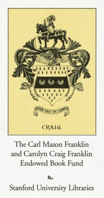 The Carl Mason and Carolyn Craig Franklin Endowed Book Fund in Humanities