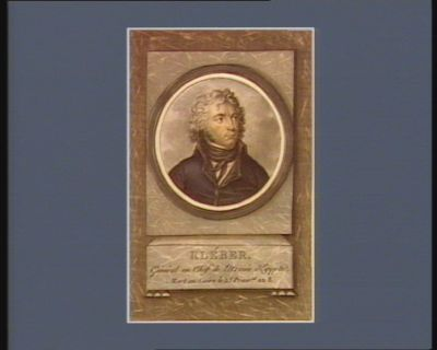 Kléber general en chef de l'armée d'Egypte, mort au Caire le 25 prairial an 8 : [estampe]
