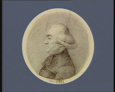 M. François Goubert curé de Bellegarde né à Aubusson le 4 8.bre 1735 dép. de la sénéchaussée de Guéret : [dessin]