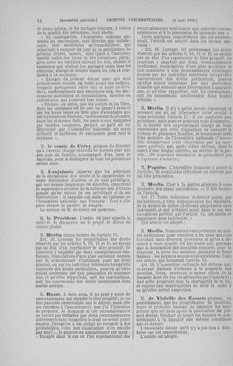 Tome 12 : Du 2 mars au 14 avril 1790 - page 14