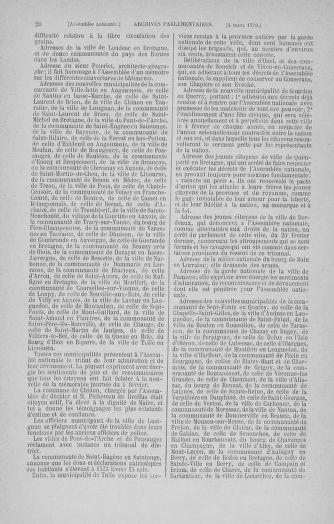 Tome 12 : Du 2 mars au 14 avril 1790 - page 20