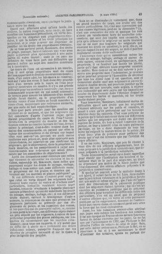 Tome 12 : Du 2 mars au 14 avril 1790 - page 43