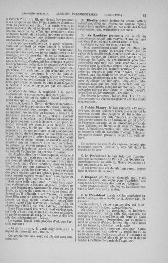 Tome 12 : Du 2 mars au 14 avril 1790 - page 45