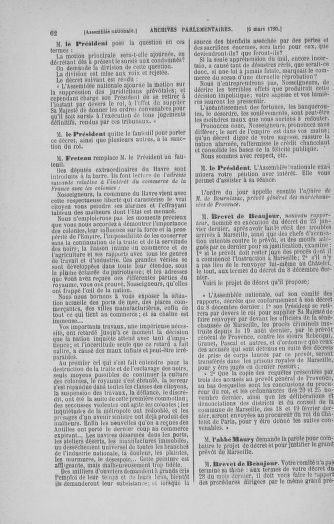 Tome 12 : Du 2 mars au 14 avril 1790 - page 62