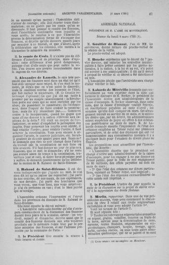 Tome 12 : Du 2 mars au 14 avril 1790 - page 67
