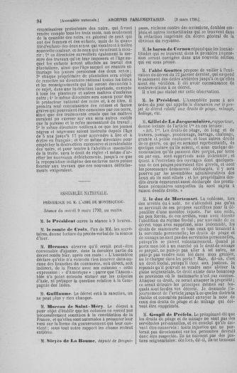 Tome 12 : Du 2 mars au 14 avril 1790 - page 94