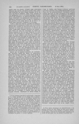 Tome 12 : Du 2 mars au 14 avril 1790 - page 100