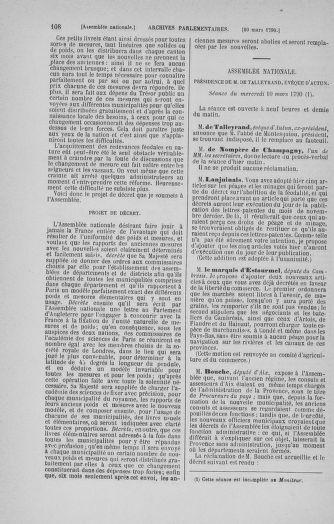 Tome 12 : Du 2 mars au 14 avril 1790 - page 108