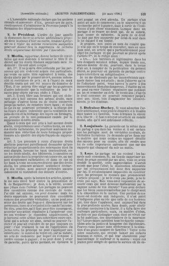 Tome 12 : Du 2 mars au 14 avril 1790 - page 109