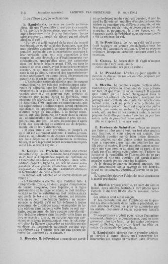Tome 12 : Du 2 mars au 14 avril 1790 - page 116