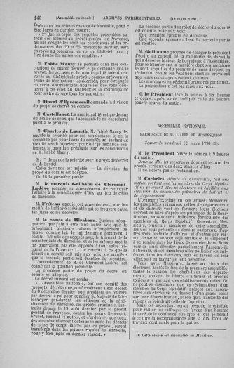 Tome 12 : Du 2 mars au 14 avril 1790 - page 140