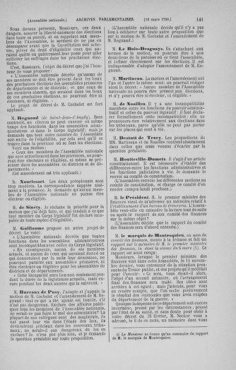 Tome 12 : Du 2 mars au 14 avril 1790 - page 141