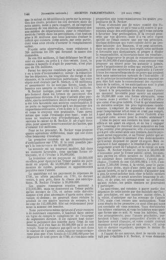 Tome 12 : Du 2 mars au 14 avril 1790 - page 144
