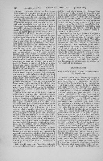 Tome 12 : Du 2 mars au 14 avril 1790 - page 148