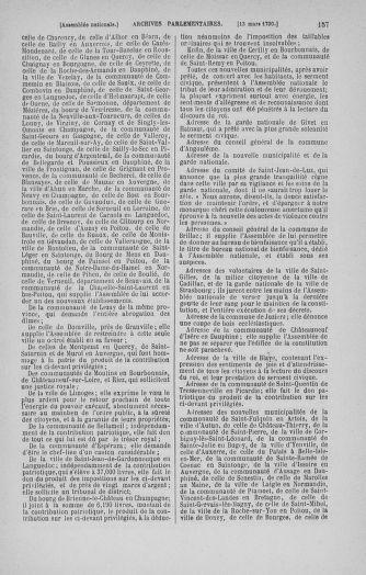 Tome 12 : Du 2 mars au 14 avril 1790 - page 157