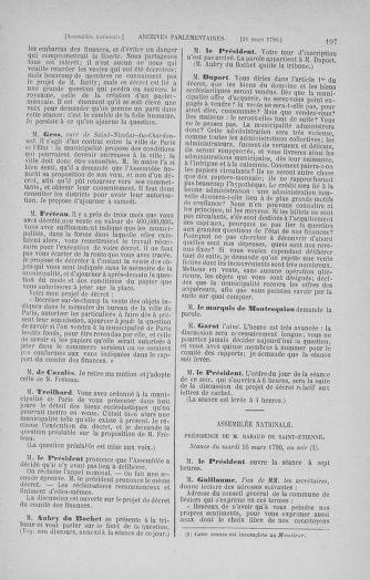 Tome 12 : Du 2 mars au 14 avril 1790 - page 197