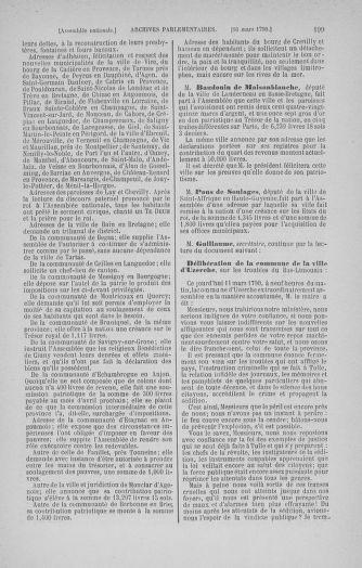 Tome 12 : Du 2 mars au 14 avril 1790 - page 199
