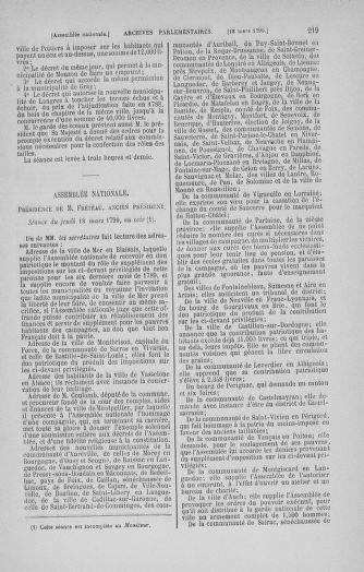 Tome 12 : Du 2 mars au 14 avril 1790 - page 219