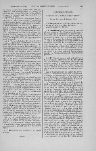 Tome 12 : Du 2 mars au 14 avril 1790 - page 237