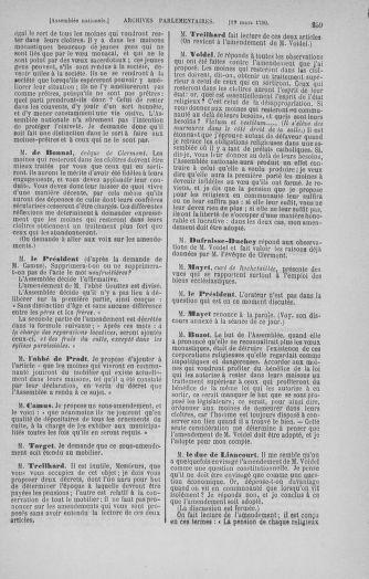 Tome 12 : Du 2 mars au 14 avril 1790 - page 239