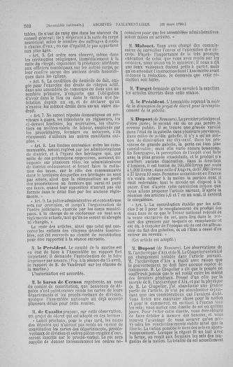 Tome 12 : Du 2 mars au 14 avril 1790 - page 262