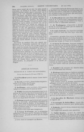 Tome 12 : Du 2 mars au 14 avril 1790 - page 288