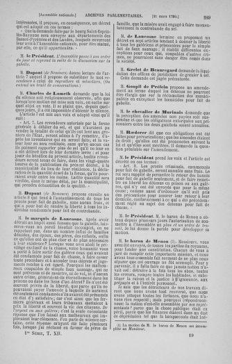 Tome 12 : Du 2 mars au 14 avril 1790 - page 289